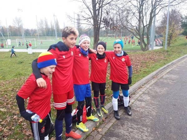 Młodzi zawodnicy Limanovii na testach w Wiśle Kraków