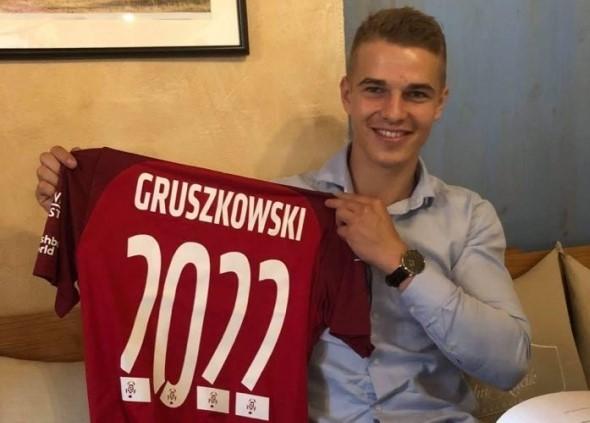 Konrad Gruszkowski, wychowanek KS Turbacz, zadebiutował w Ekstraklasie