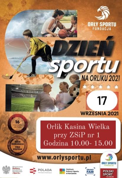 Dzień Sportu na Orliku w Kasinie Wielkiej