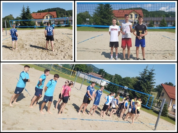 Uczniowie szkół podstawowych i średnich rywalizowali w siatkówce plażowej