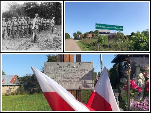 Z kart historii. Jakub Sołtys wyruszył z Dobrej, by walczyć z bolszewikami. Dzisiaj o jego bohaterstwie pamiętają mieszkańcy Mieleszkowców Pawłowickich