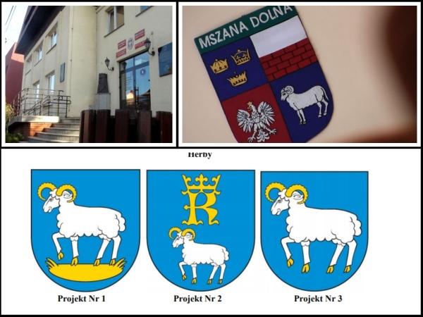 Magistrat chce przedstawić Komisji Heraldycznej jeden z nowych projektów. - Podejście urzędników miasta do zmiany herbu jest absurdalne - mówi Michał Liszka