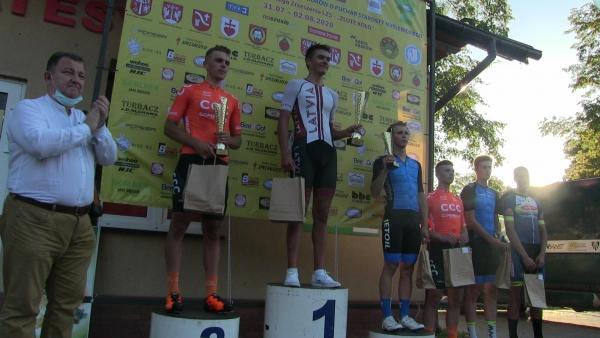 I etap XXXVIII Międzynarodowego  Wyścigu Kolarskiego Juniorów dla zawodnika z Łotwy