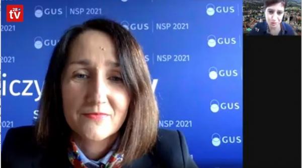 - Zainteresowanie spisem ludności w powiecie limanowskim jest niewielkie - mówi Agnieszka Szlubowska, dyrektor Urzędu Statystycznego