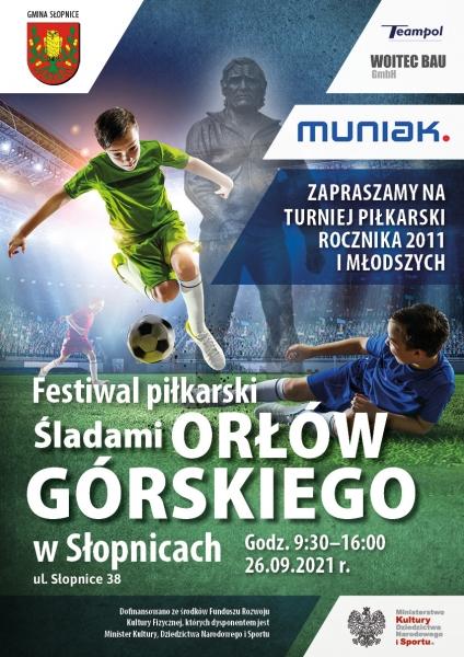 Festiwal piłkarski Śladami Orłów Górskiego: W niedzielę w Słopnicach zagrają m.in. Legia Warszawa, Wisła Kraków, Barca Academy
