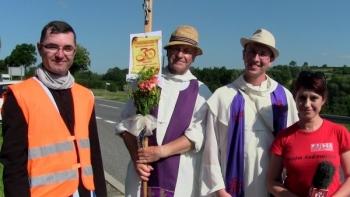 Z Bazyliki Mniejszej pw. św. Egidy na Słowacji wędrują przez nasz powiat, aby pokłonić się Częstochowskiej Pani