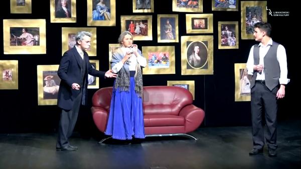 """""""Kandydatki na żonę"""" - pełna humoru premiera Teatru """"Co się stało?!"""" na scenie Limanowskiego Domu Kultury"""