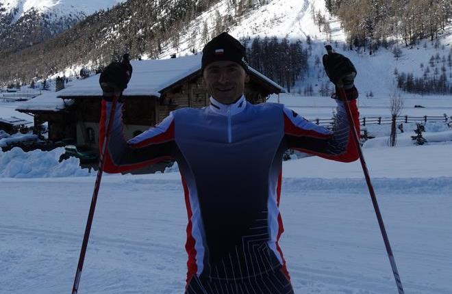 Robert Faron zajął trzecie miejsce w narciarskim Biegu Lotników