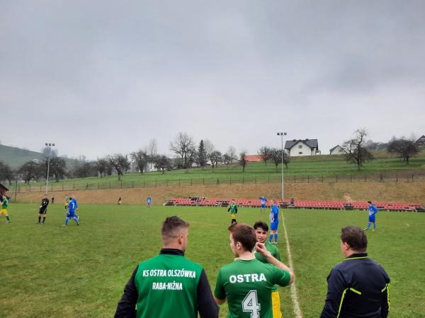 10 bramek w meczu Ostra Olszówka/Raba Niżna - Rybie Nowe Rybie