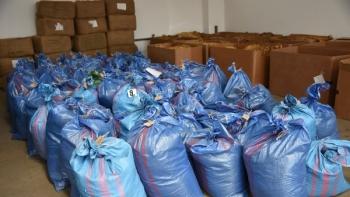 Karpacki Oddział Straży Granicznej rozpracował grupę przestępczą. Wytworzyli ponad 2,5 tony krajanki o wartości ponad 1,2 miliona złotych
