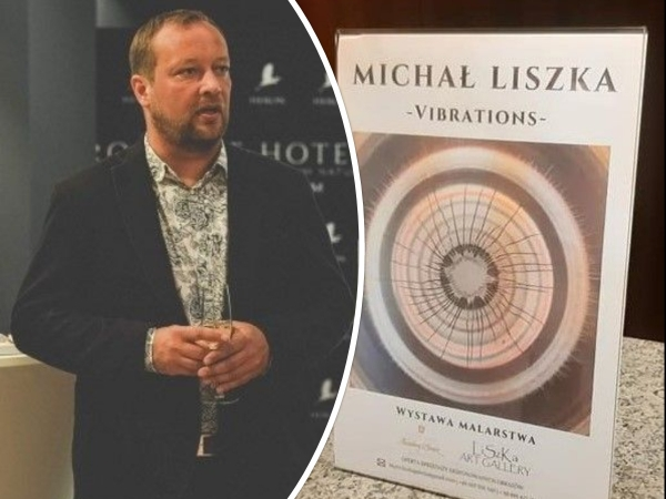 Michał Liszka prezentuje swoje prace w znanym hotelu pod Tatrami