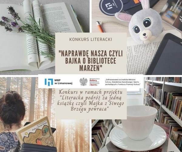 """""""Naprawdę nasza"""", czyli bajka o bibliotece marzeń. Miejska Biblioteka Publiczna organizuje konkurs literacki"""