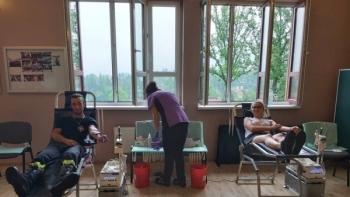 Strażacy z Limanowej dziękują wszystkim za udział w akcji zbiórki krwi