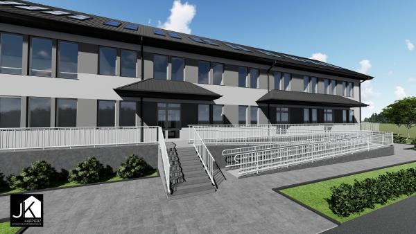 Ogłoszenie o możliwości wynajmu lokali w rozbudowywanym Ośrodku Zdrowia w Porębie Wielkiej