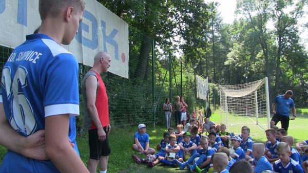 Maciej Szczęsny, były bramkarz kadry Polski opowiedział najmłodszym o swojej piłkarskiej pasji
