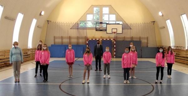 Cheerleaderki z grupy Dance Little Stars otrzymały nagrody za trzecie miejsce w województwie